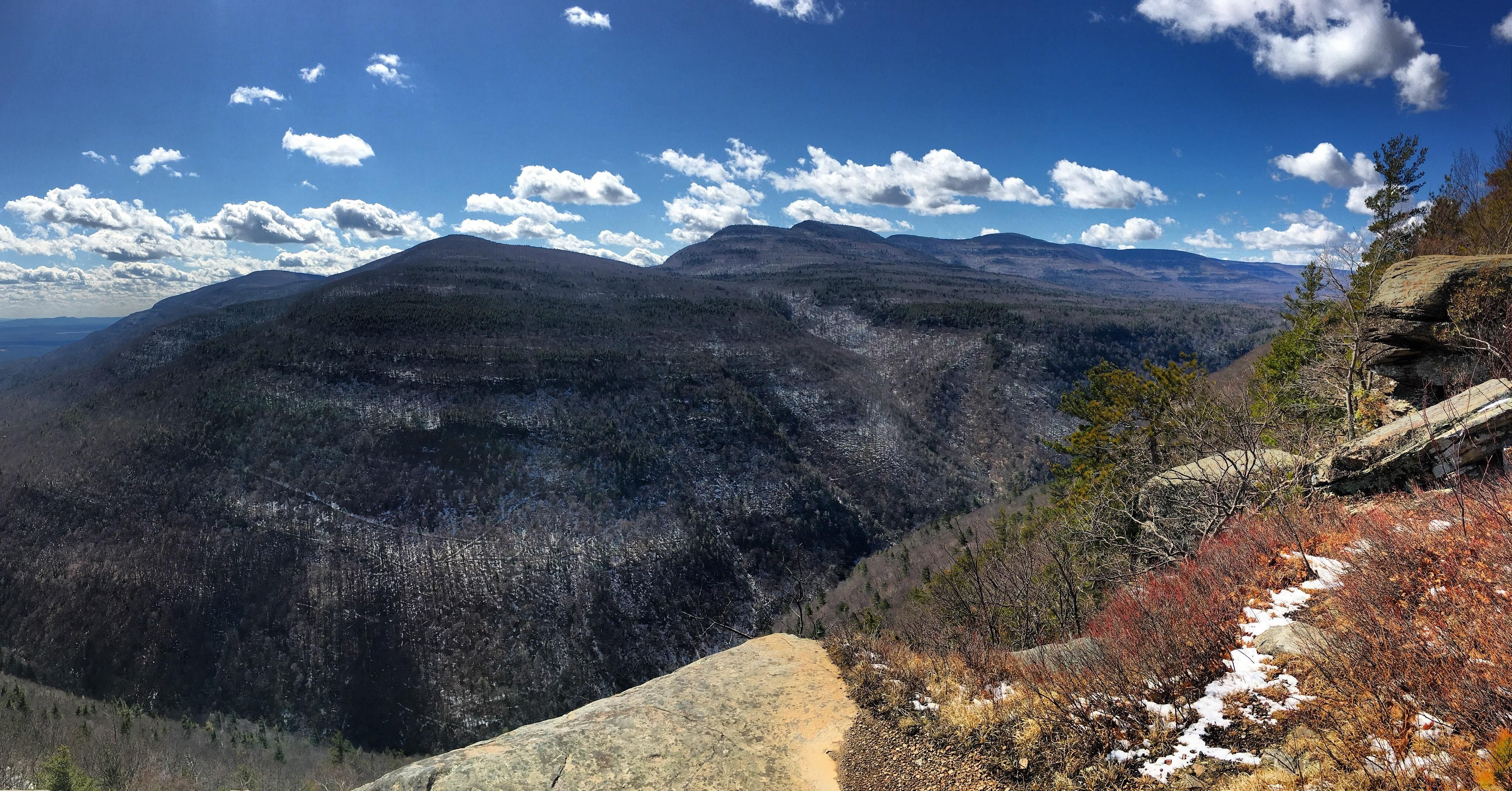 outdoor nature mountains. Huckleberry Point Catskill Mountains NY 4/2/17 #hiking #camping #outdoors Outdoor Nature