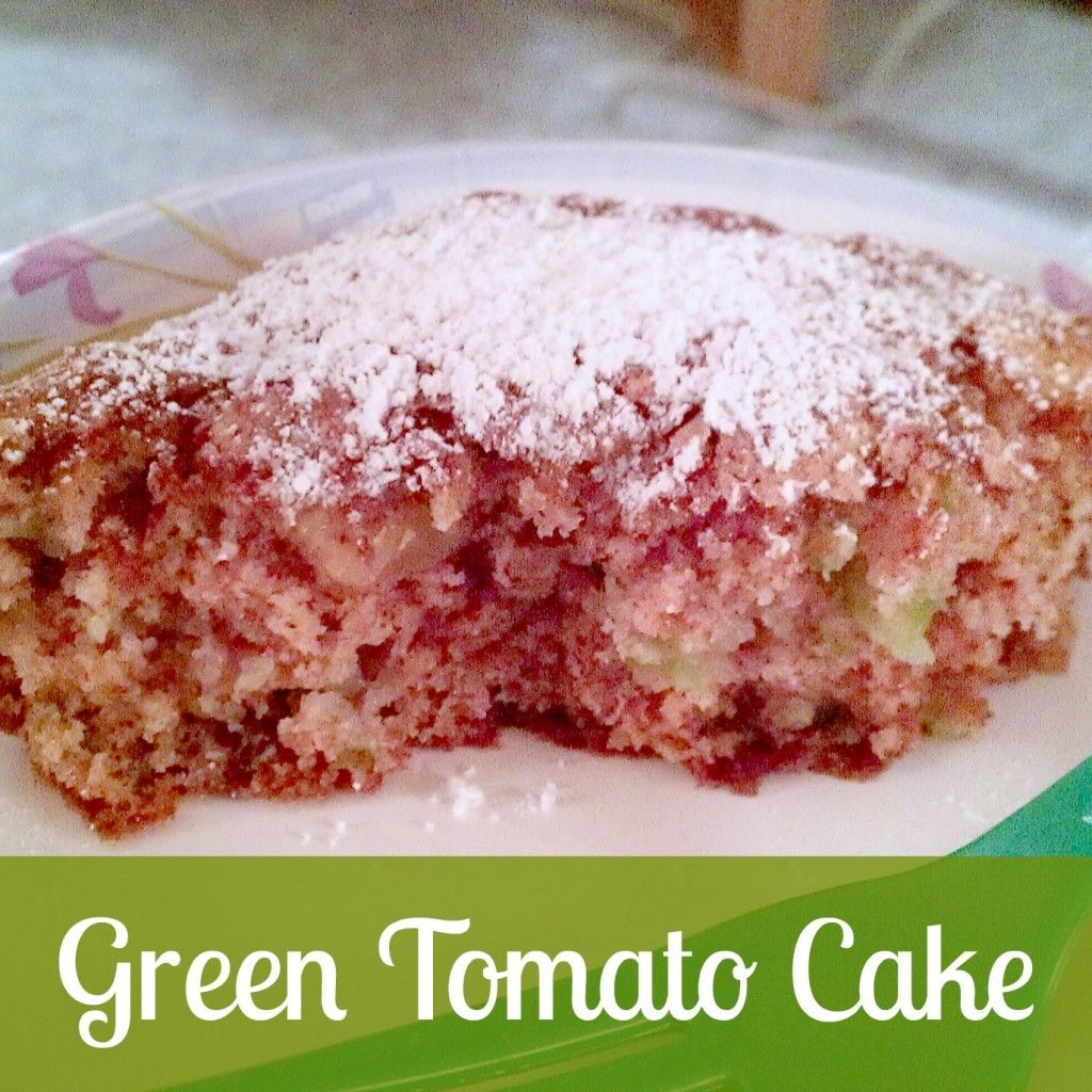 Delicious green tomato cake recipe with images dessert