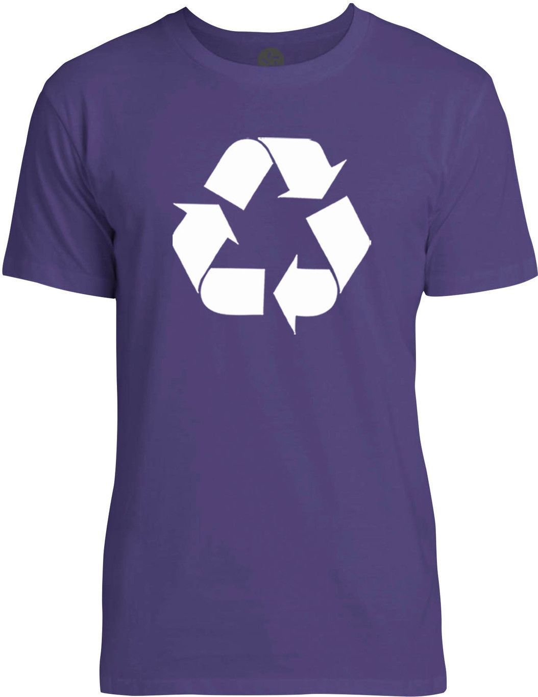 Recycle (White) Mens Fine Jersey T-Shirt