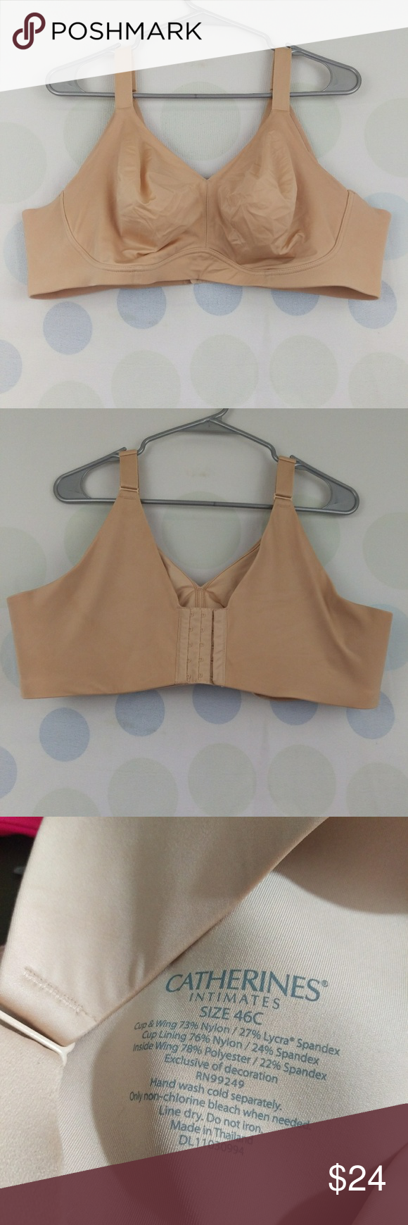 086eb10de0 Catherine s Intimates 46C Wireless Comfort Bra Hello and thank you for  checking out my items!