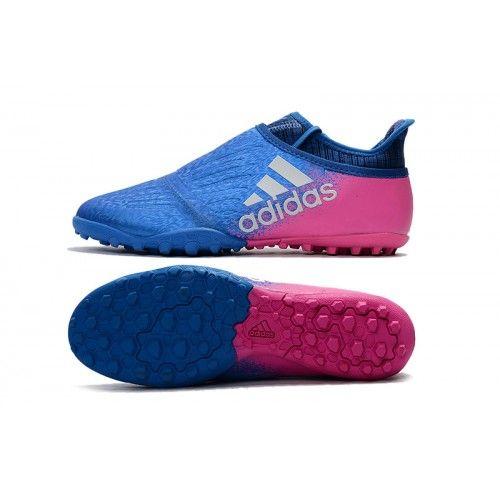 Outlet Adidas X Tango 16 Purechaos TF Botas de futbol Azul Rosado ... d8542ab8815fe