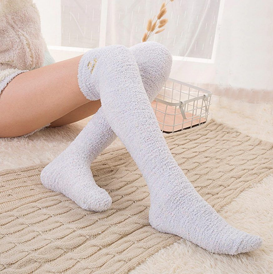 BED FLUFFY SOCKS  ONE SIZE LADIES WARM /& COSY SOFT SNUGGLE