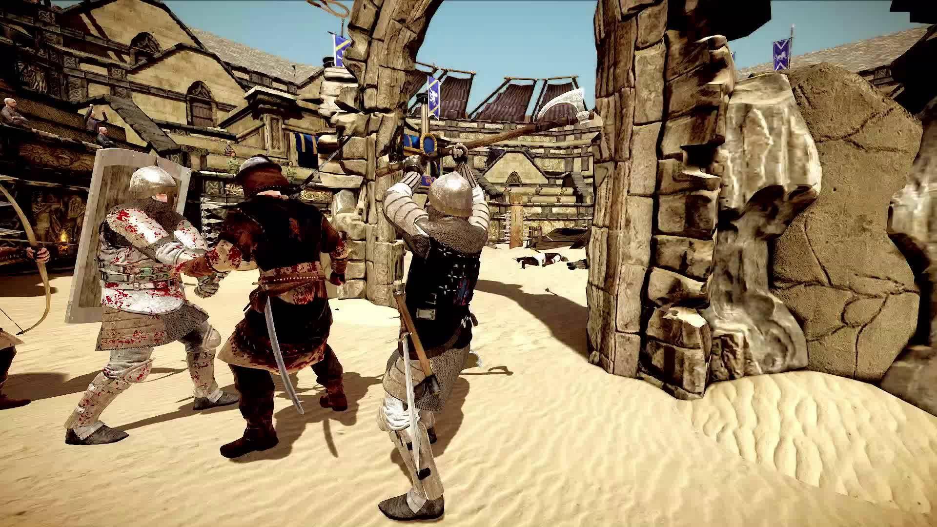Chivalry: Medieval Warfare PS4/Xbox One Announcement Trailer
