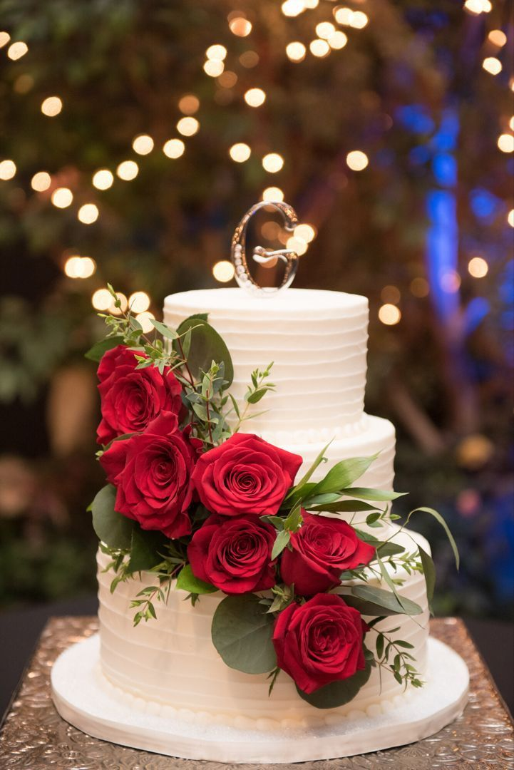 Pastel De Boda Rosas Rojas Wedding Cake Red Wedding Cake Roses Red Rose Wedding