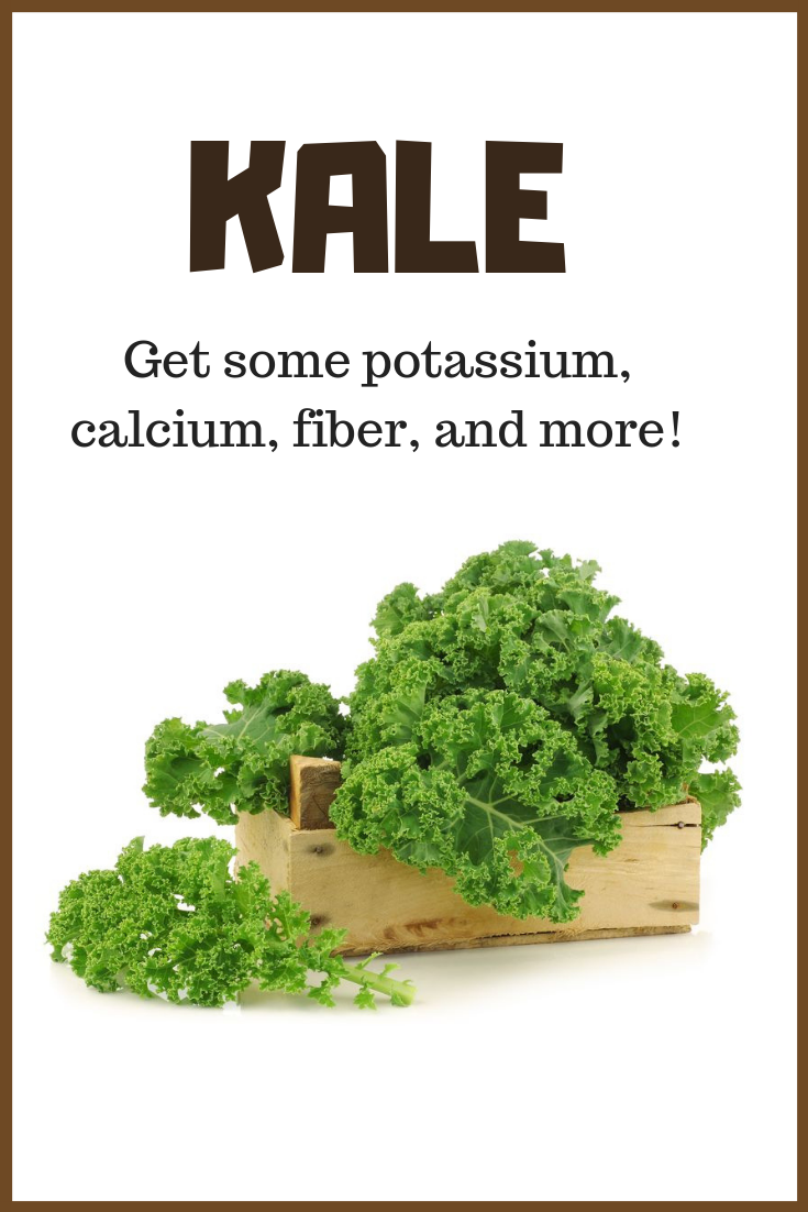 Does kale have fiber