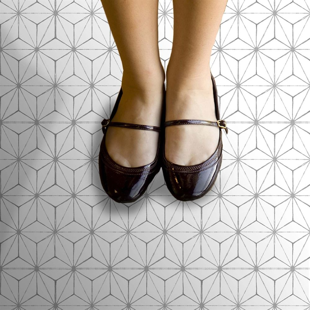 WallPops Kikko Selfadhesive Floor Tile 24in x 60in