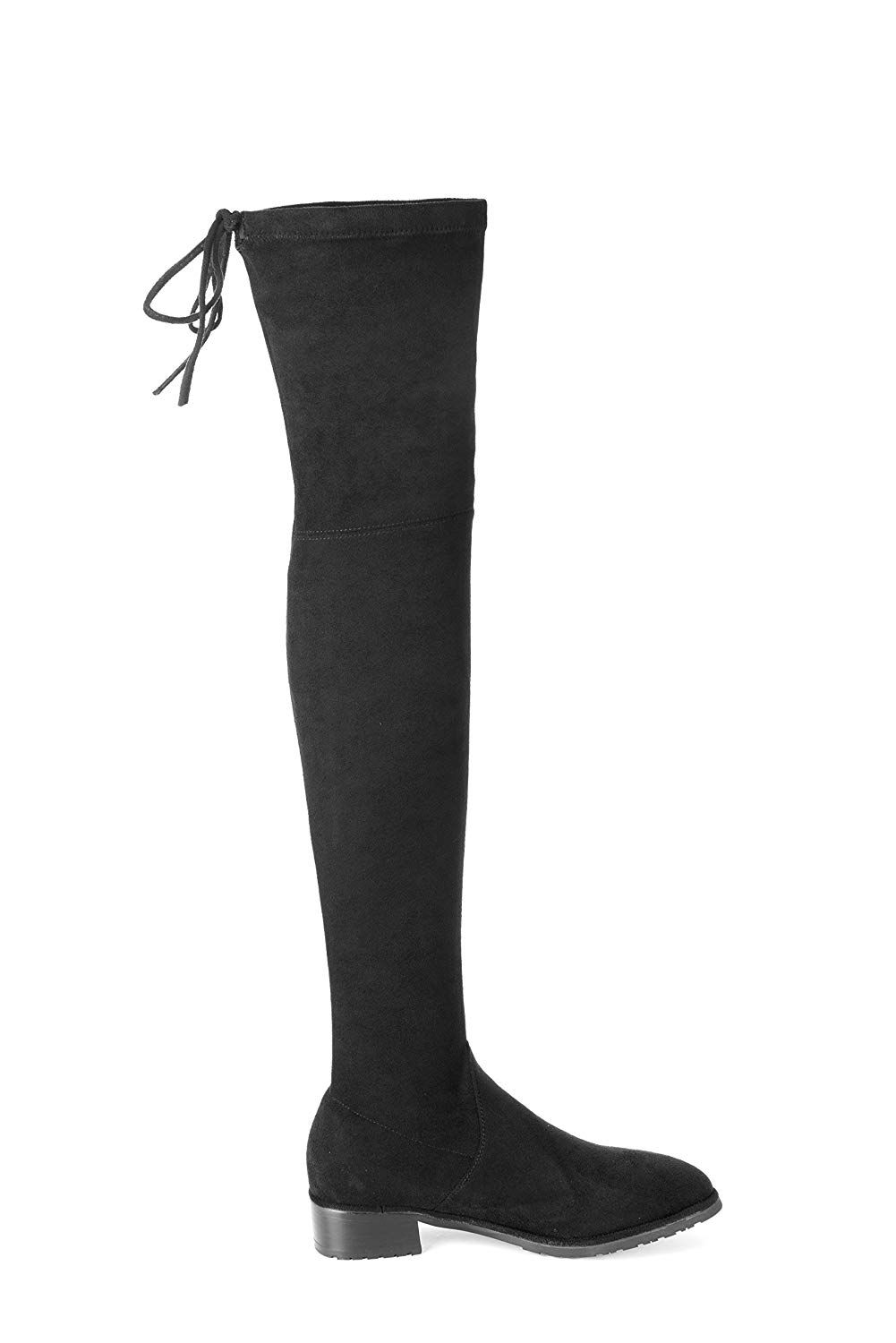 1301a7afcce MIUINCY Thigh High Boots Women Fashion Snow Boot Stretch Fabric Over The Knee  Boots Sexy Womens