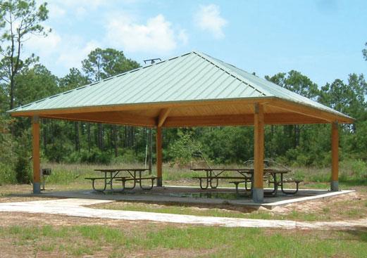 Square Wood Shelter Poligon Wood Shade Structures In 2020 Shade Structure Wood Shades Structure Wood Shades