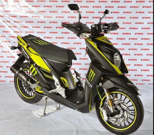 Modifikasi Yamaha X Ride 125 Supermoto Desain Yamaha Motorbikes