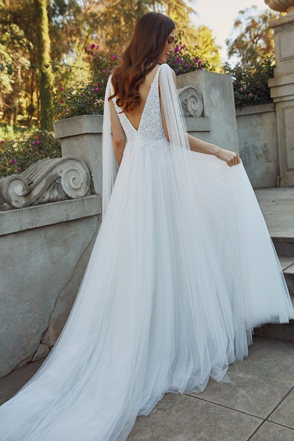 Jenny Yoo Wedding Dresses Spring 2020 Dress For The Wedding In 2020 Cape Wedding Dress High Neck Wedding Dress Modest Wedding Dresses