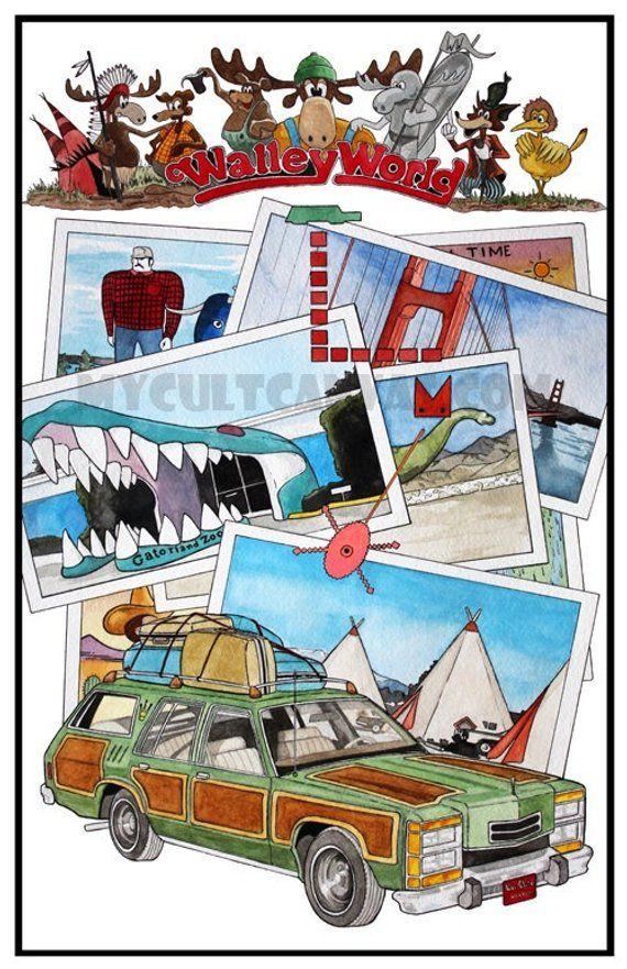 "Original National Lampoons Vacation 11"" x 17"" Art Print"