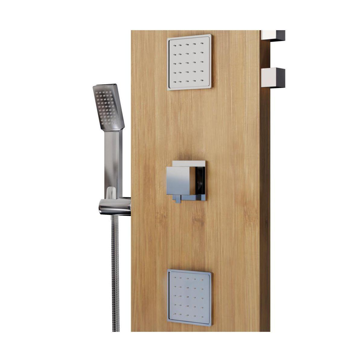 Panel Prysznicowy Z Bateria Holoma2 Sensea Panele Prysznicowe W Atrakcyjnej Cenie W Sklepach Leroy Merlin