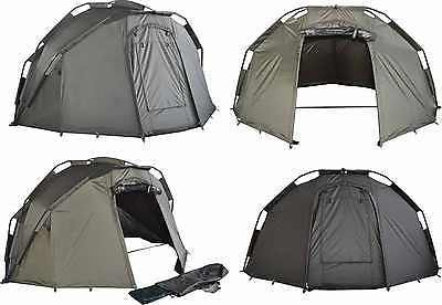 Space tackle 1 man pram type #quick #erect bivvy for carp #fishing + groundsheet,  View more on the LINK: http://www.zeppy.io/product/gb/2/381312503649/