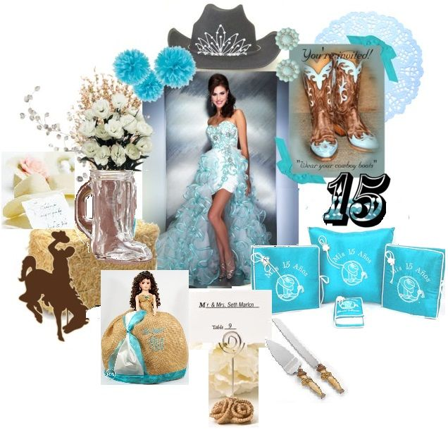 Quinceanera themes accessories favors at