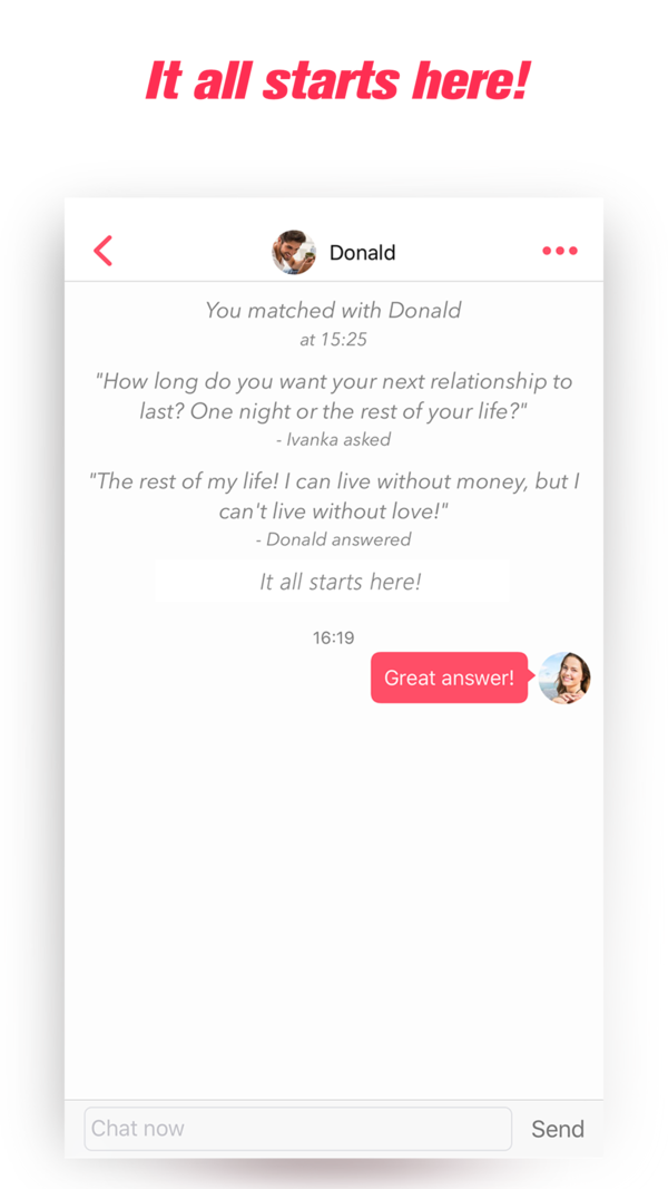 paras dating chat-sovellus
