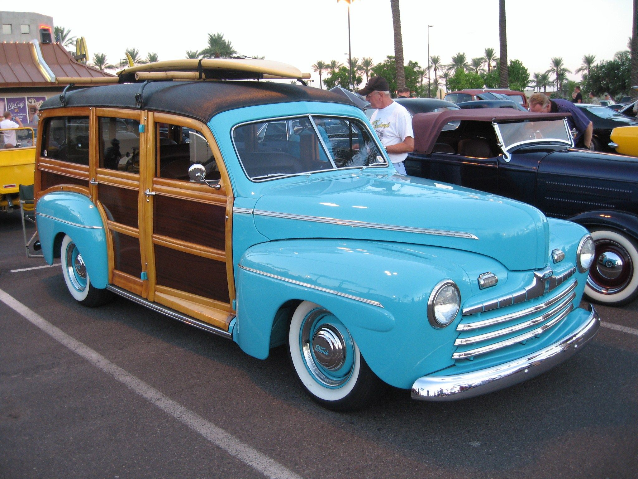 1946 Ford Woody Station Wagon | Station wagon, Cars and Ford
