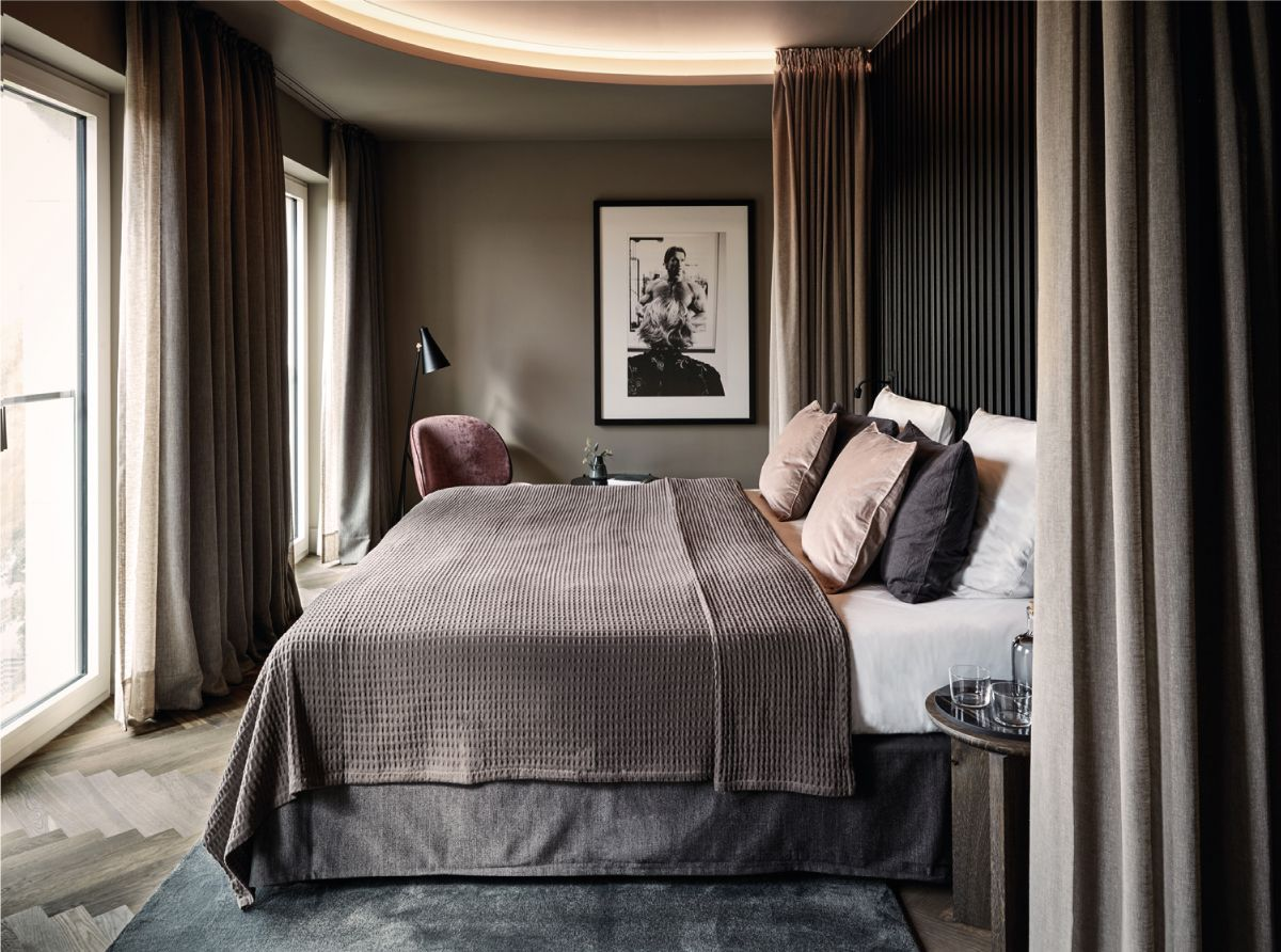 This is how you create the hotel feeling in the bedroom (according to an interior expert) - Roomed #Bedroom #Create #Expert #Feeling #Hotel #INTERIOR #Roomed