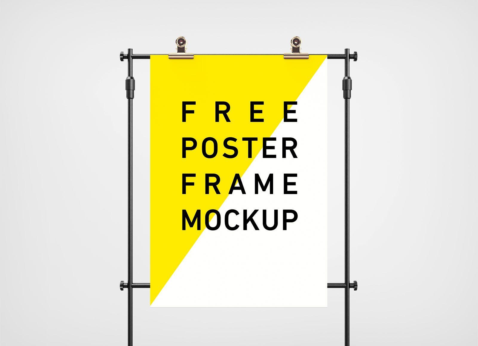 Three poster mockup free