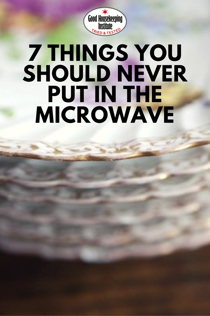 NEVER Put In A Microwave