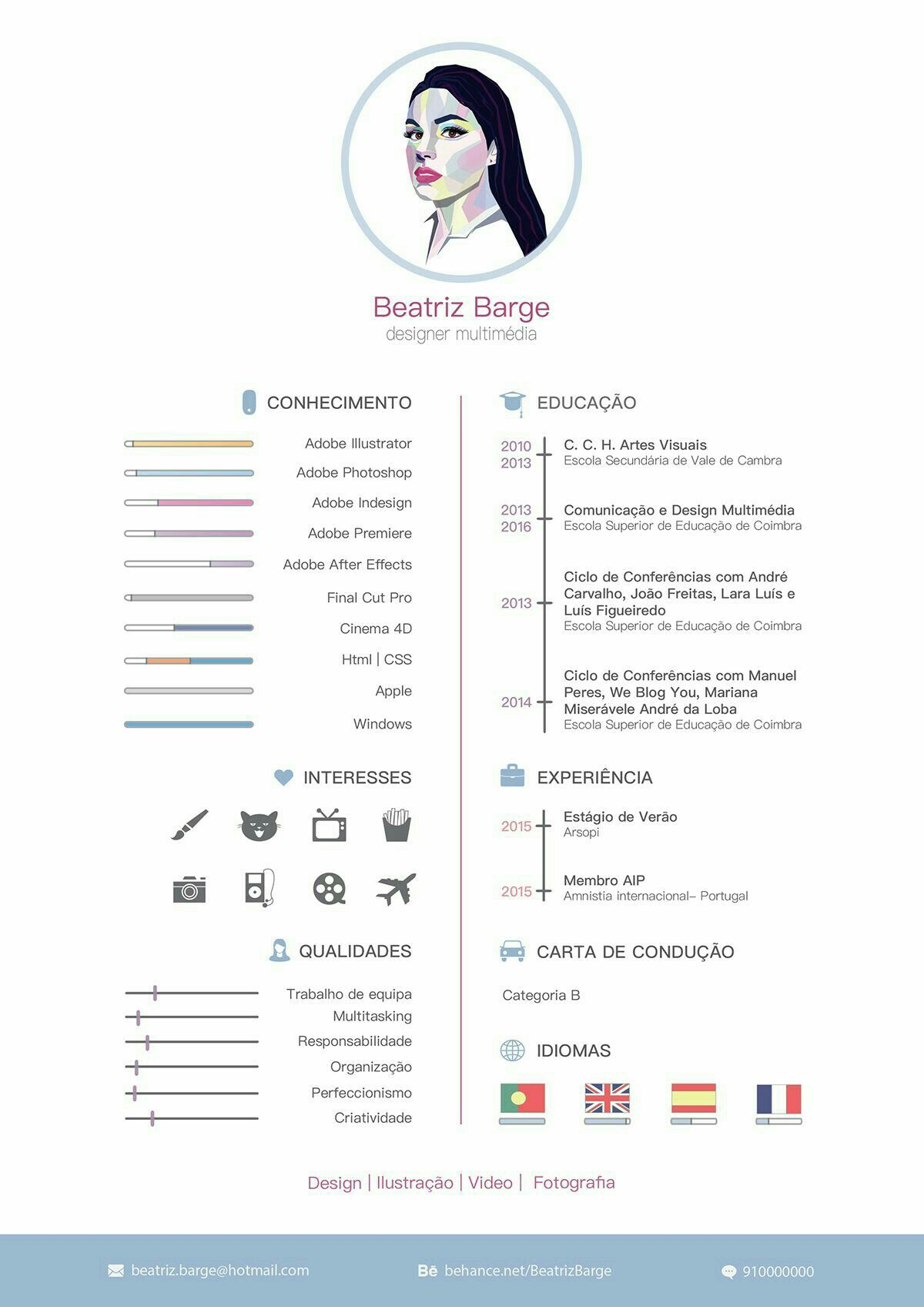 Beautiful cv #architectureportfolio | Creative resume | Pinterest ...