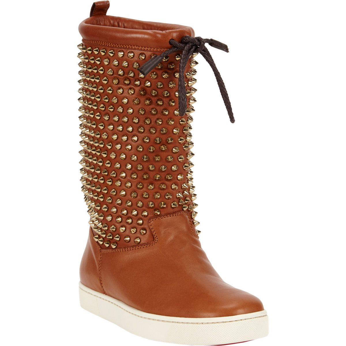 Christian Louboutin Surlapony Spiked Boot at Barneys.com I LOVE LOVE LOVE THESE!!!!