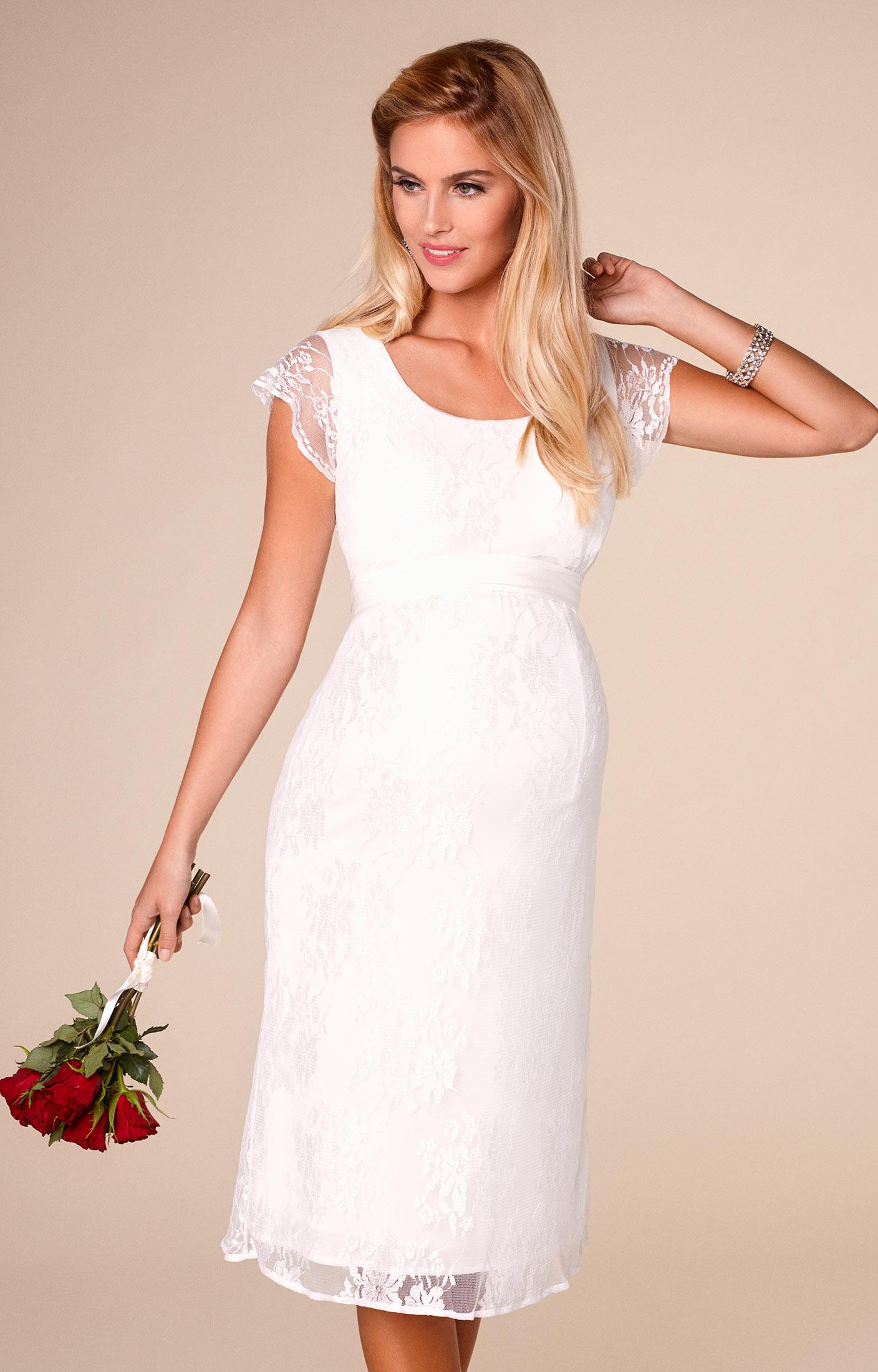 April Wedding Nursing Lace Dress Ivory by Tiffany Rose ccf56dfda