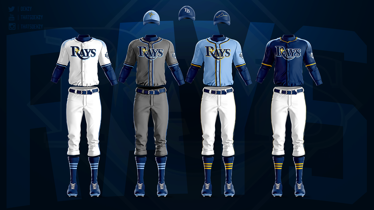 0c175aea1a0 MLB Jerseys Redesigned on Behance