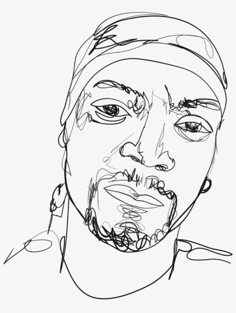 Snoop Dogg Snoop Dog Simple Drawing Transparent Png Download Snoop Dog Easy Drawings Snoop Dogg