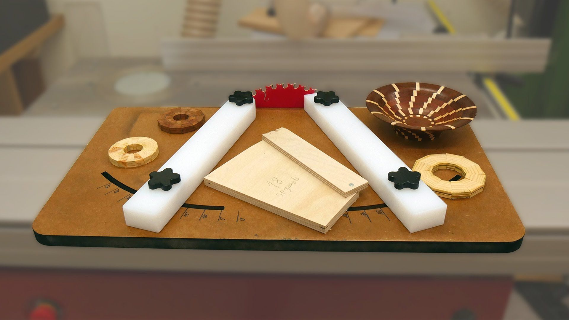 Wedgie/ Miter Sled (Free Templates) YouTube Craft