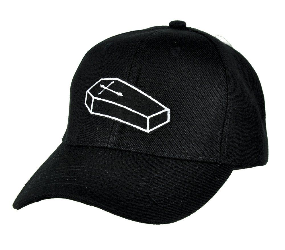 30664d784 Coffin Casket Hat Baseball Cap Occult Clothing Clothing Accessories ...