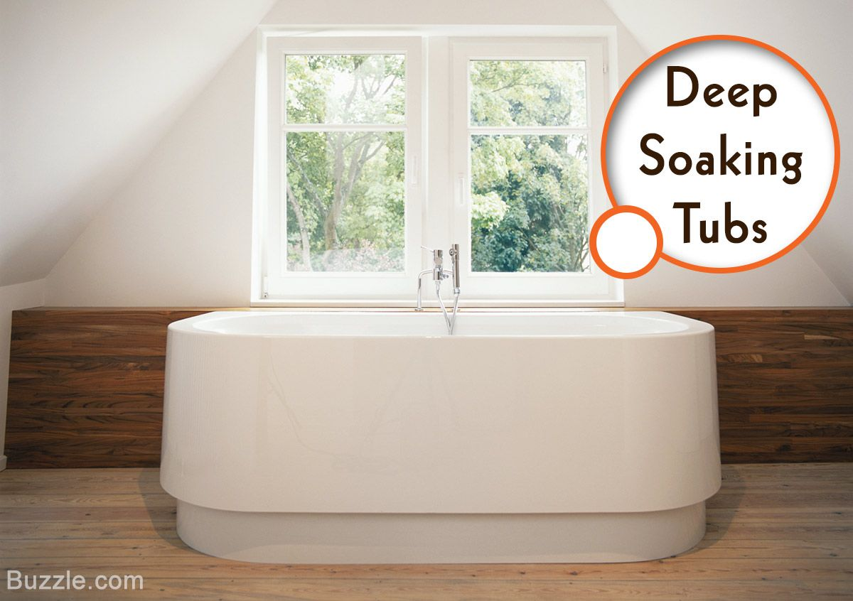 Deep Soaking Tubs for Small Bathrooms | Bath | Pinterest | Small ...