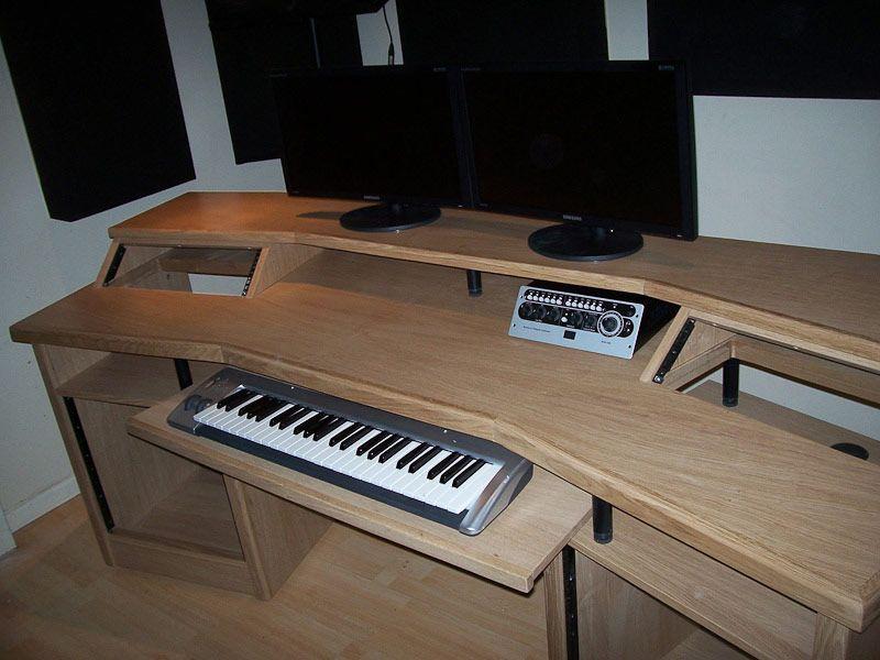 Attirant Home Recording Studio Furniture Uk