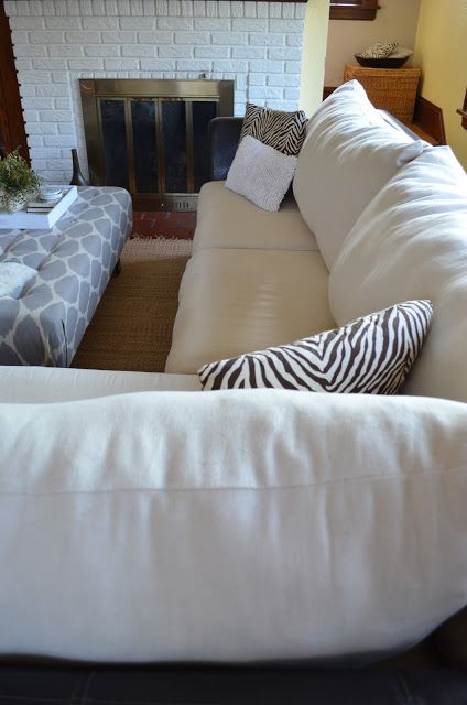 Inside Out Design How To Make New Back Cushions For A Couch Diy