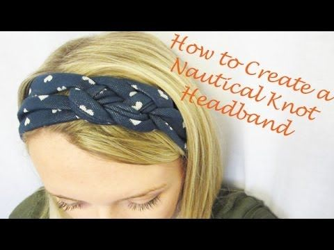 Part 2 of Headband Series: How to Create a Nautical Knot Headband #babyheadbandtutorial