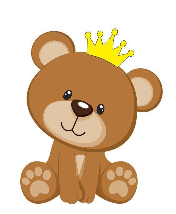 Resultado De Imagem Para Bandeirola Urso Principe Ursinho Rosa