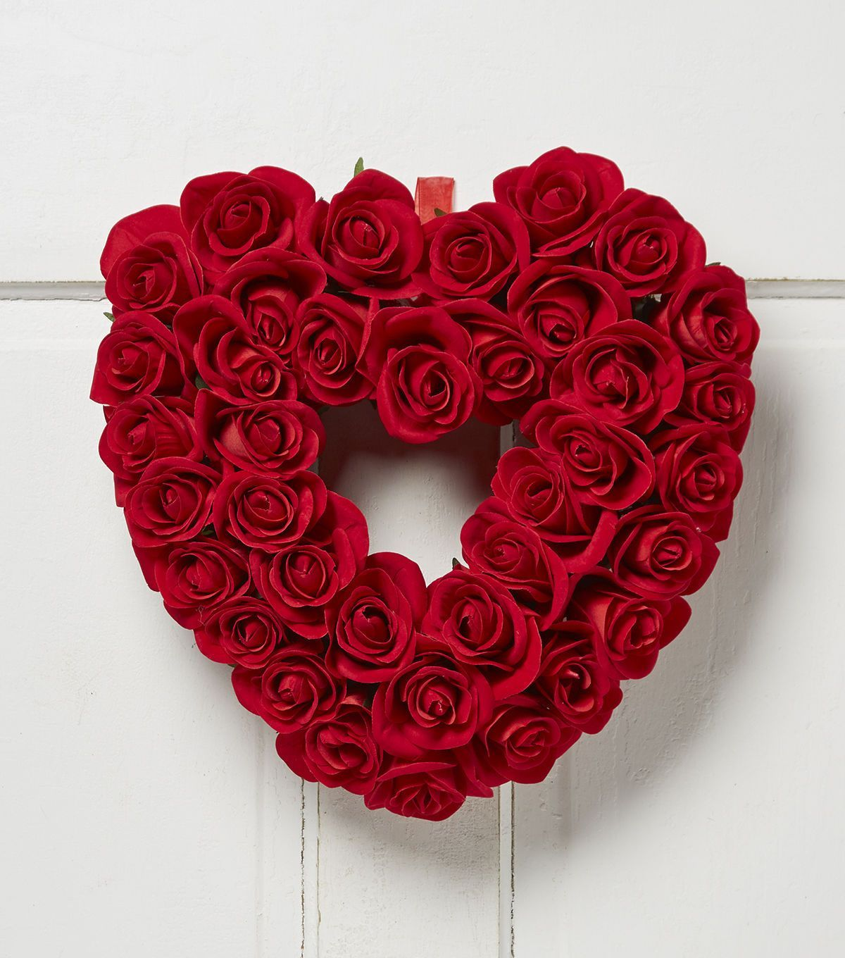 Valentines day rose heart wreath red valentines day with joann valentines day rose heart wreath red for the front door rubansaba