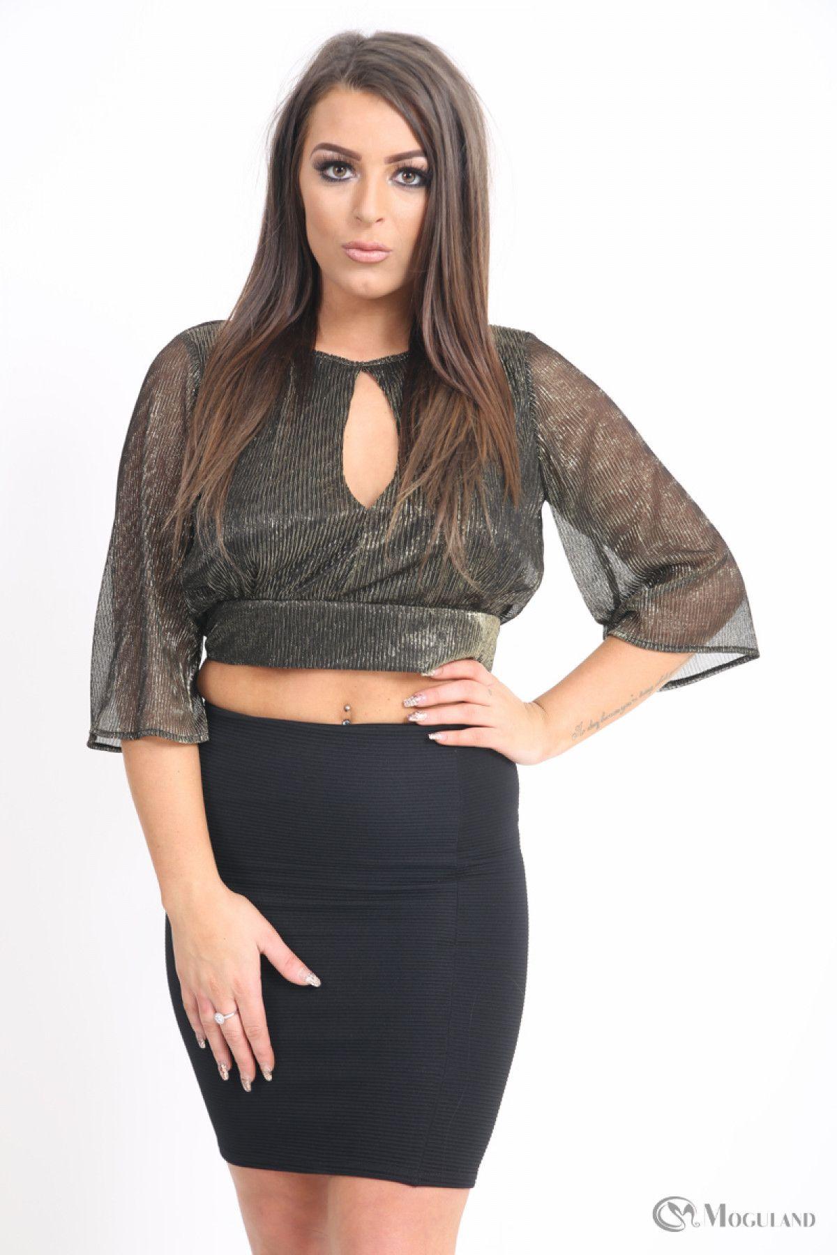 50c7261c30 Ladies black shimmer open back top wholesale - Women s Wholesale Clothing  Supplier