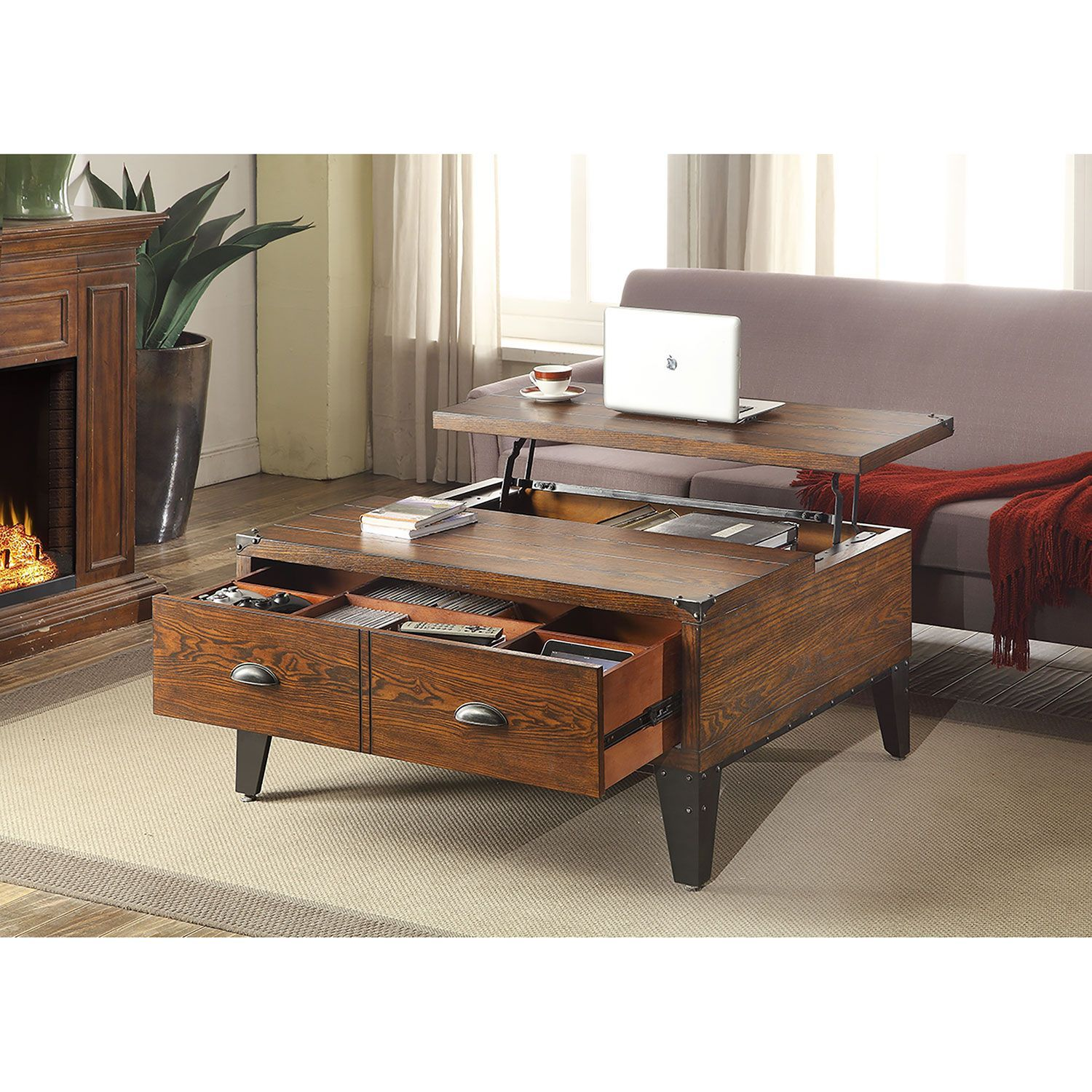 Wellington Lift Top Coffee Table Sam S Club 299 88