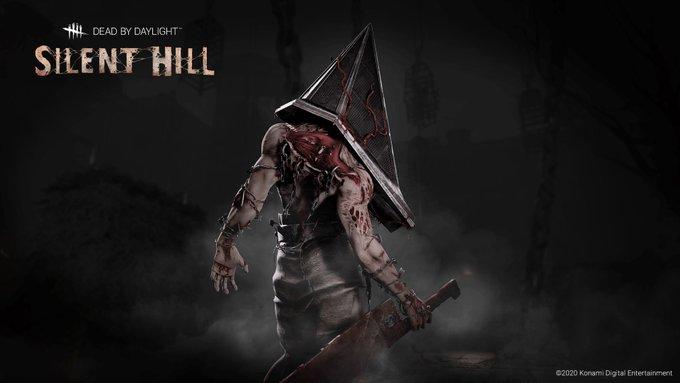 Dead By Daylight On Twitter Pyramid Head Silent Hill Art Dead