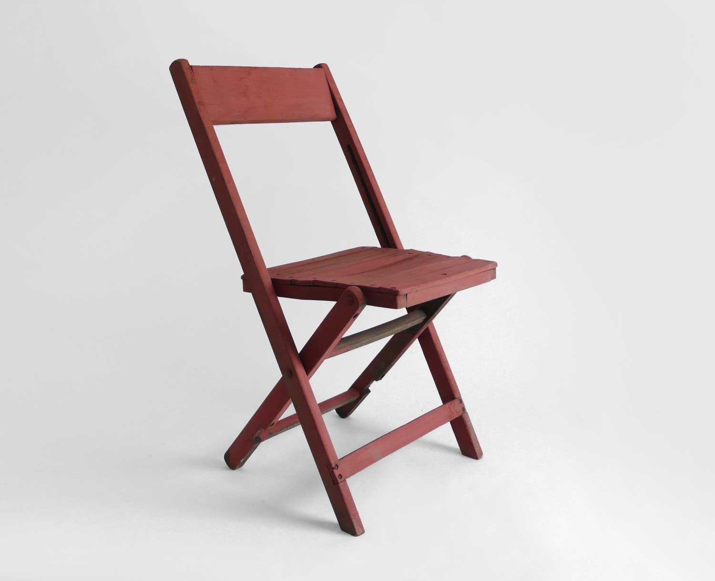 Superieur Hindsvik Vintage Wood Folding Rustic Chair