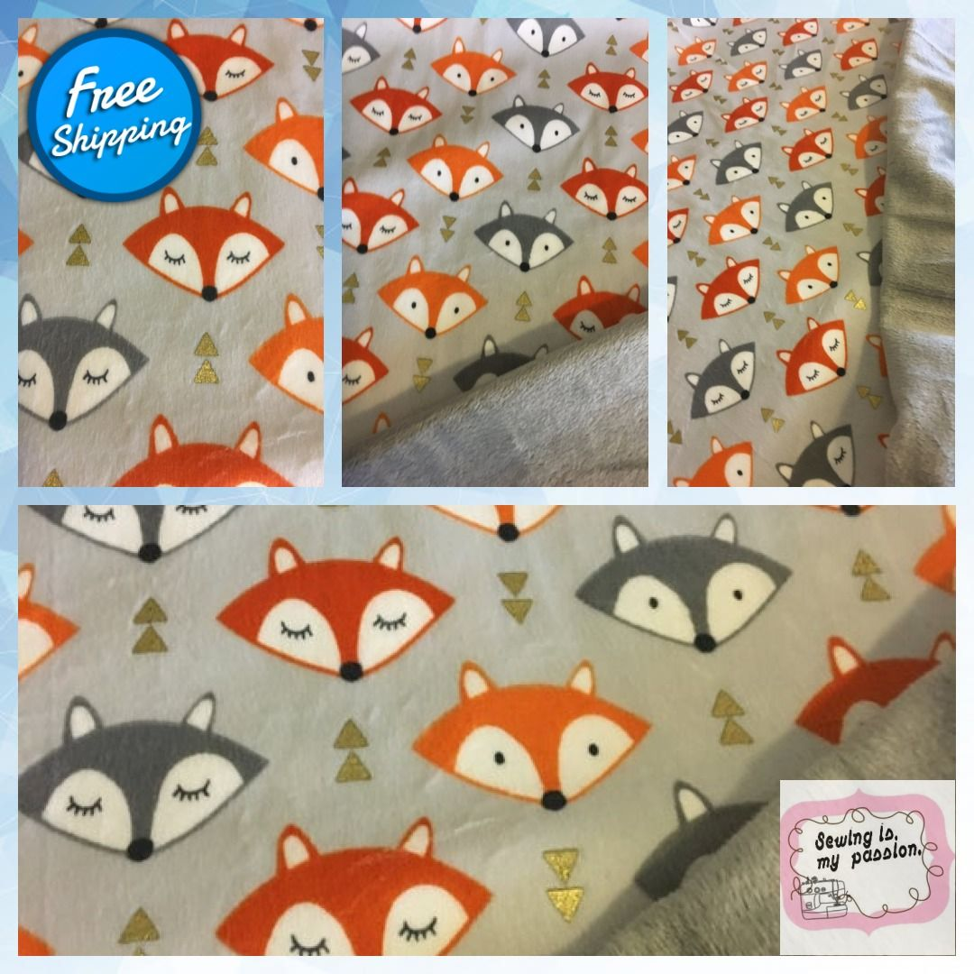 Foxy weighted blanket for kids. FoxBlanket FreeShipping
