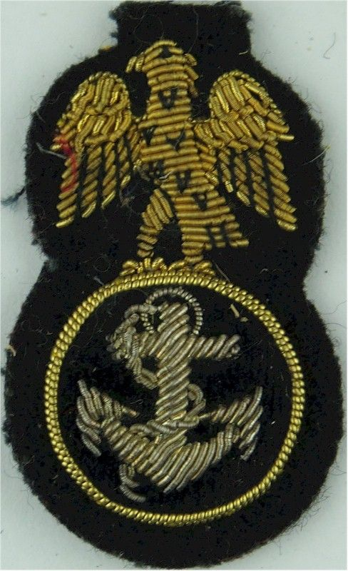 Nigeria Navy Petty Officer Bullion wire-embroidered Naval