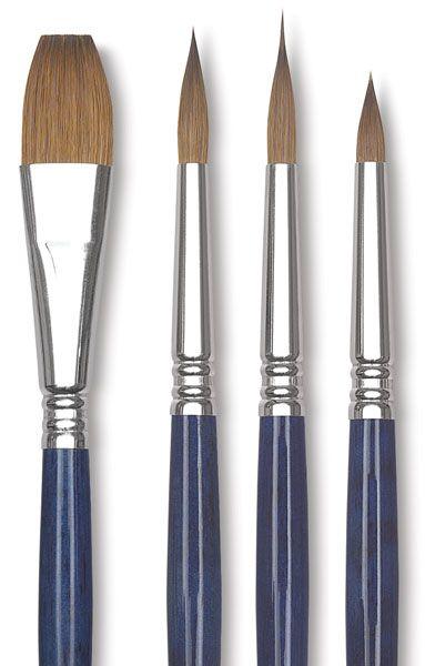 Winsor /& Newton Artist Sable Brush Pointed Round No 3