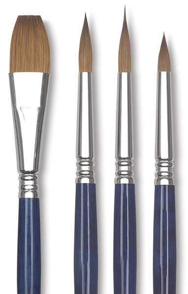 Escoda Optimo Kolinsky Sable Watercolor Brushes Best Watercolor