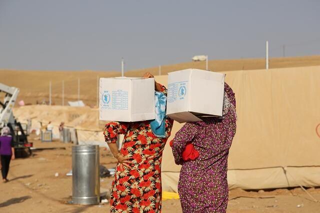 Avião fretado pela ONU chega ao Iraque com ajuda humanitária urgente para refugiados sírios | #AssistênciaHumanitária, #Conflito, #Fronteiras, #GuerraCivil, #Iraque, #OrienteMédio, #Refugiados, #Síria