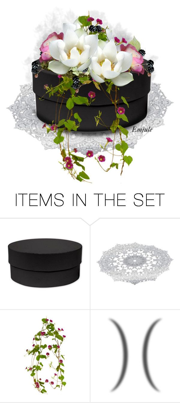 """""""Decorated Box"""" by emjule ❤ liked on Polyvore featuring art"""