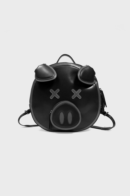 Black Pig Backpack Pig Bag Shane Dawson Merch Black Pig