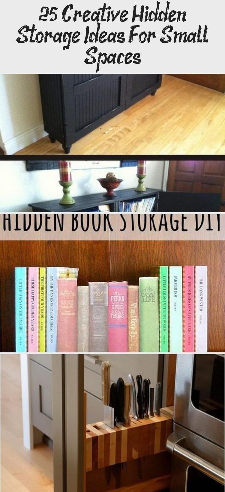 25 Creative Hidden Storage Ideas For Small Spaces Hidden