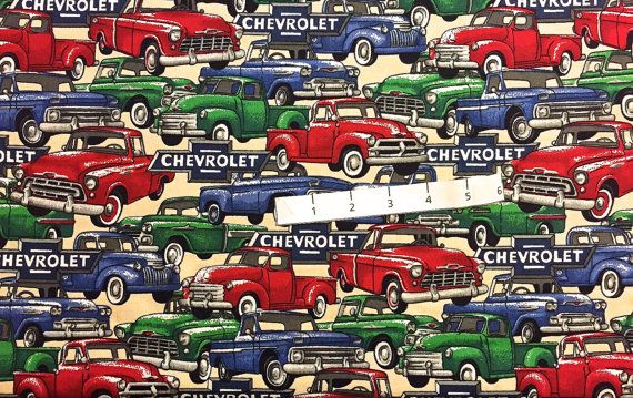 Chevrolet Truck Fabric Retired Chevy Trucks I Spy Quilts Concord Fabrics Fabric4you Chevrolet Trucks Chevy Trucks Chevrolet