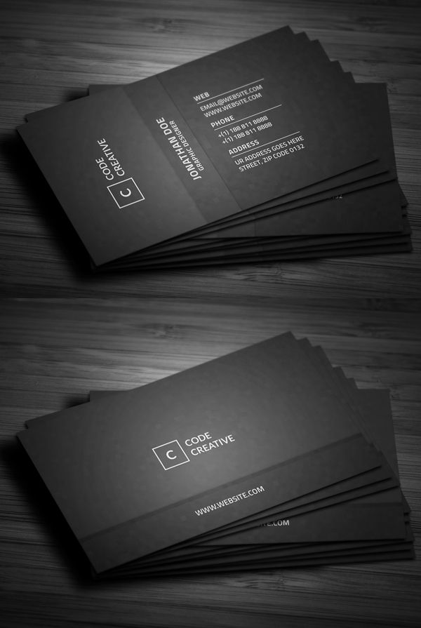 Simple Modern Pixels Business Card | Business Cards | Pinterest ...